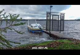 Ile wody brakuje w naszych jeziorach? Żeglarze pokazują zdjęcia jez. Lubie