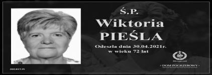 Ś.P. Wiktoria Pieśla