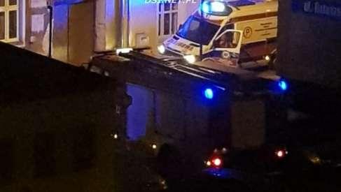 Akcja służb ratowniczych w Drawsku Pomorskim