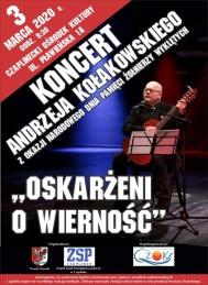 2020-03-03 Koncert Andrzeja Kołakowskiego (Czaplinek, Drawsko)