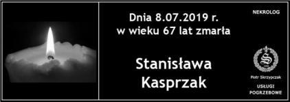 Ś.P. Stanisława Kasprzak