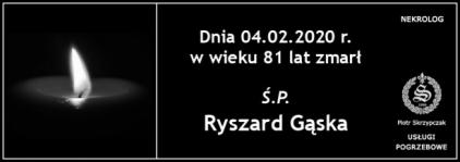 Ś.P. Ryszard Gąska
