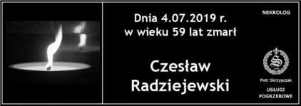 Ś.P. Czesław Radziejewski