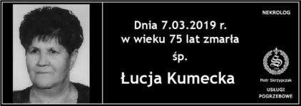 Ś.P. Łucja Kumecka