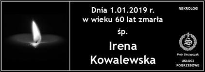 Ś.P. Irena Kowalewska