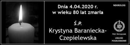 Krystyna Baraniecka- Czepielewska