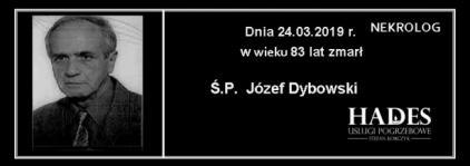 Ś.P. Józef Dybowski