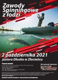 2021-10-02  Zawody spinningowe z łodzi