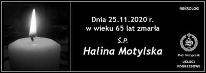 Ś.P. Halina Motylska