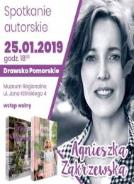 2019-01-25 Spotkanie Autorskie z Agnieszką Zakrzewską