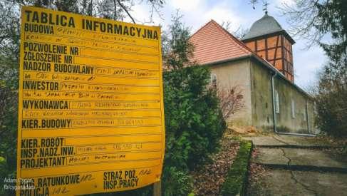 Remont kościoła w Rydzewie będzie kontynuowany. Jest 100 tys. z ministerstwa