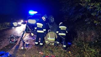 Tragiczny wypadek w okolicach Szczycienka. Jedna osoba nie żyje