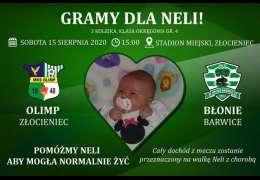 2020-08-15 Dla Neli: Mecz Olimp Złocieniec - Błonie Barwice