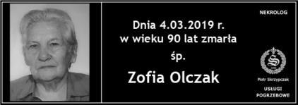 Ś.P. Zofia Olczak
