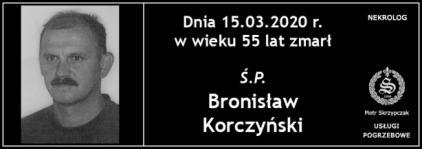 Ś.P. Bronisław Korczyński