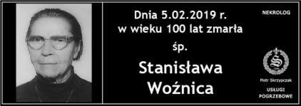 Ś.P. Stanisława Woźnica