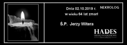 Ś.P. Jerzy Witera
