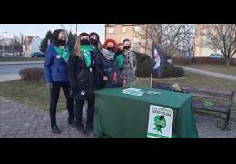 Ponad 150 podpisów zebrały kobiety pod projektem ustawy podczas akcji w Drawsku Pomorskim