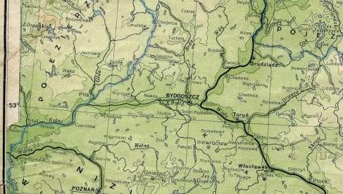Ciekawa mapa z 1934 roku
