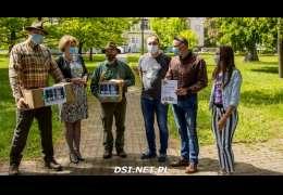"""""""Żbik"""" z pomocą dla Domu Pomocy Społecznej w Darskowie"""