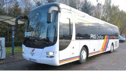 Kierowca autobusu, opiekun opiekunka w PKS Gryfice w Drawsku, Ińsku