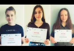 Licealistki  ze Złocieńca w rolach bizneswoman w ogólnopolskim konkursie