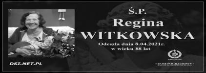 Ś.P. Regina Witkowska