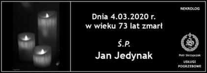 Ś.P. Jan Jedynak