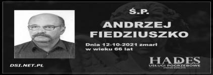 Ś.P. Andrzej Fiedziuszko