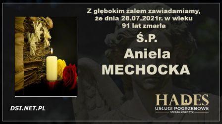 Ś.P. Aniela Mechocka
