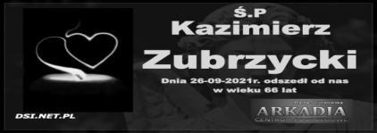 Ś.P. Kazimierz Zubrzycki