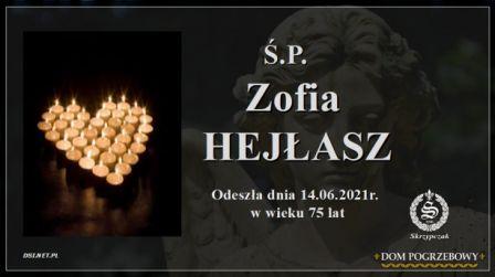Ś.P. Zofia Hejłasz
