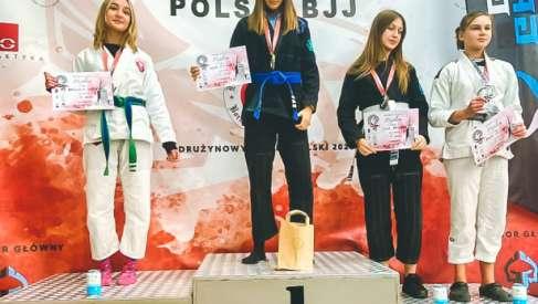 Nadia Hofman znów niezwyciężona. Mistrzostwa Polski BJJ
