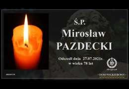 Ś.P. Mirosław Pazdecki