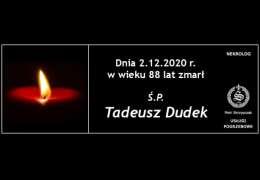 Ś.P. Tadeusz Dudek