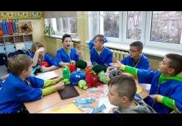 """3b z drawskiej 1 w ogólnopolskim konkursie """"Zdrowo jem, więcej wiem"""""""