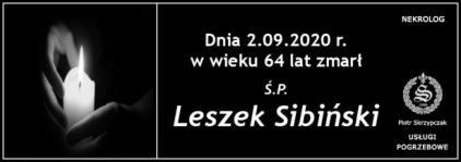 Ś.P. Leszek Sibiński