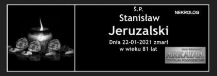 Ś.P. Stanisław Jeruzalski