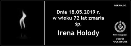 Ś.P. Irena Hołody