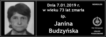 Janina Budzyńska