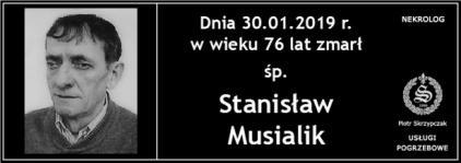 Ś.P. Stanisław Musialik