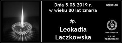 Ś.P. Leokadia Laczkowska