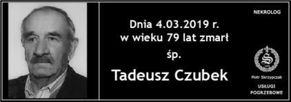 Ś.P. Tadeusz Czubek