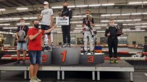 Trzynastolatek ze Złocieńca najlepszy w Mistrzostwach Polski w kartingu