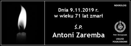 Ś.P. Antoni Zaremba
