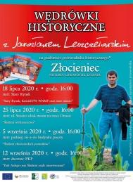 2020-07-18 Wędrówka z Jarosławem Leszczełowskim