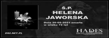 Ś.P. Helena Jaworska
